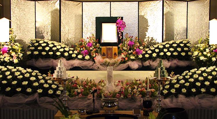 ファミリープラン1 祭壇イメージ画像