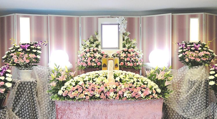 ファミリープラン2 祭壇イメージ画像